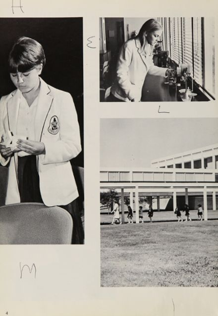 1968 Hockaday High School Yearbook Page 8