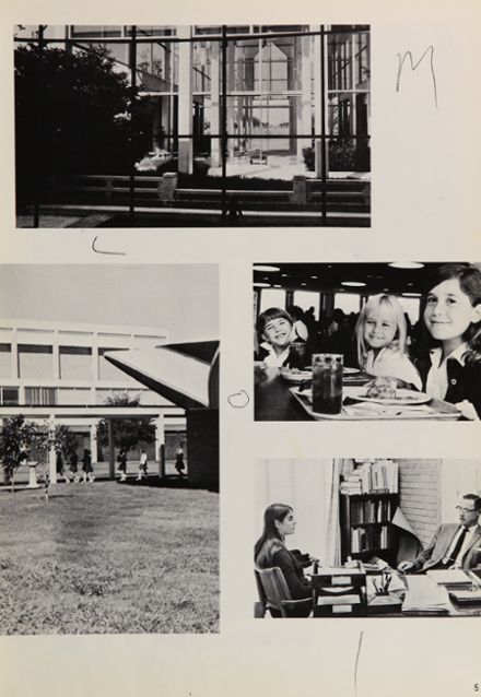 1968 Hockaday High School Yearbook Page 9