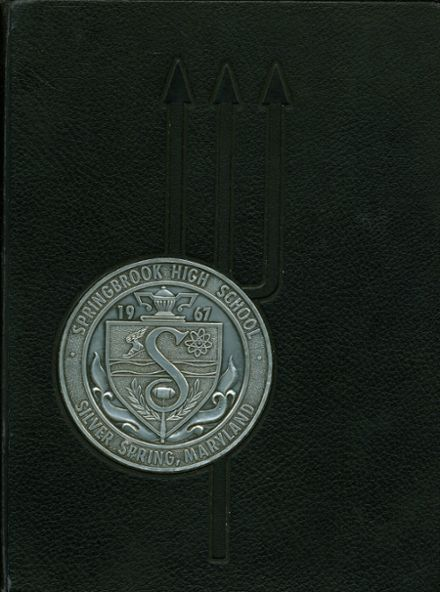 1967 Springbrook High School Yearbook Cover