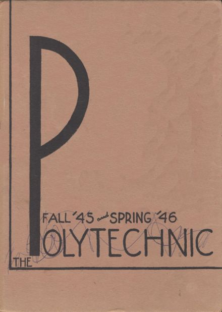 1946 Polytechnic High School Yearbook Cover