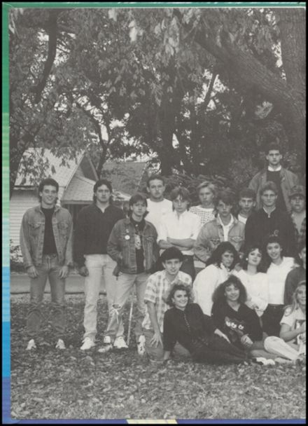 1989 Commerce High School Yearbook Page 2