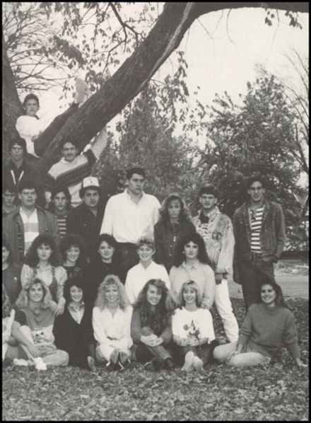 1989 Commerce High School Yearbook Page 3