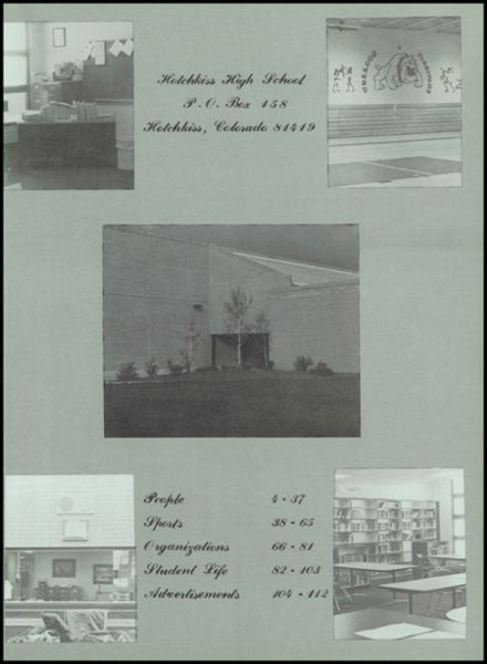 1984 Hotchkiss High School Yearbook Page 5