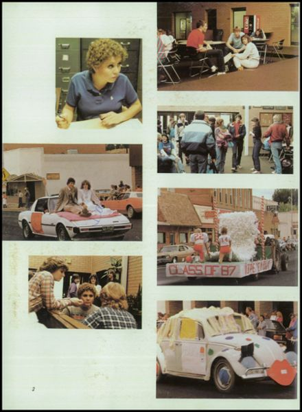 1984 Hotchkiss High School Yearbook Page 6