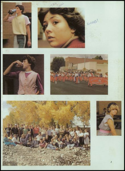 1984 Hotchkiss High School Yearbook Page 7
