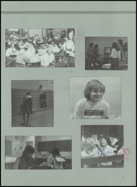1984 Hotchkiss High School Yearbook Page 9