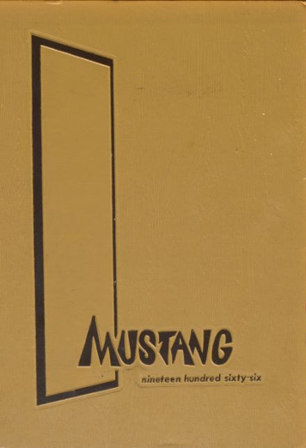 1966 Clio High School Yearbook Cover