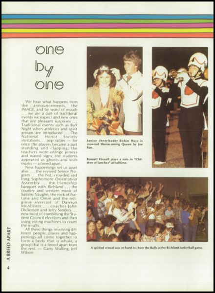 1980 Haltom High School Yearbook Page 8