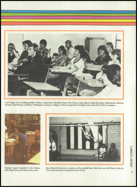1980 Haltom High School Yearbook Page 9