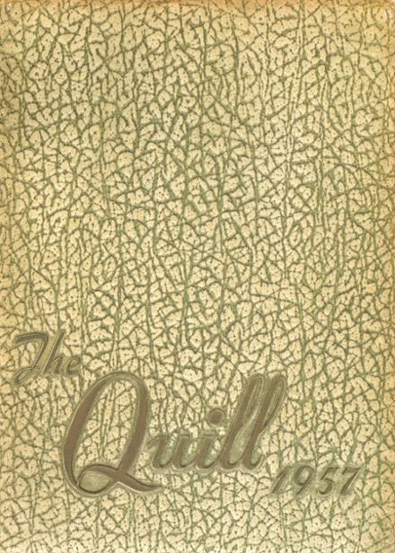 1957 Charlotte Catholic High School Yearbook Cover