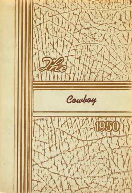1950 Woodson School Yearbook Cover