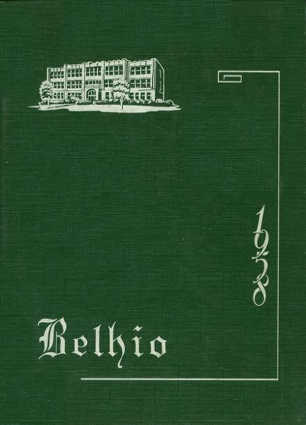 1958 Belpre High School Yearbook Cover
