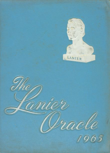 1965 Lanier High School Yearbook Cover