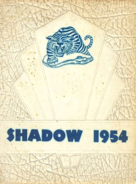 1954 Ringgold High School Yearbook Cover