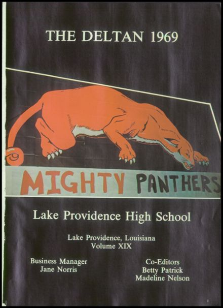 1969 Lake Providence High School Yearbook Page 5