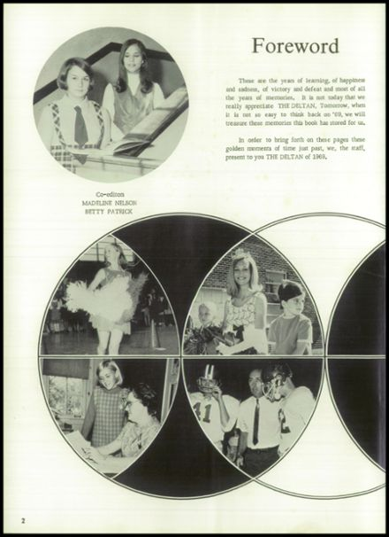 1969 Lake Providence High School Yearbook Page 6
