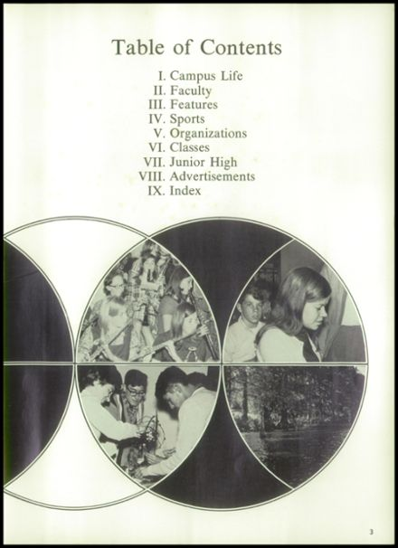 1969 Lake Providence High School Yearbook Page 7