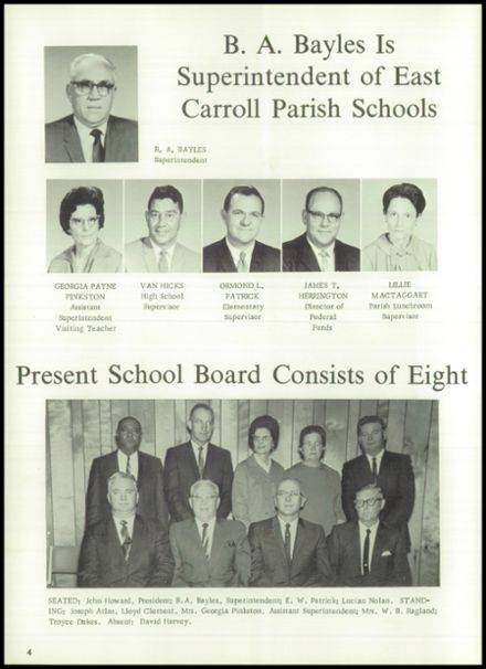1969 Lake Providence High School Yearbook Page 8