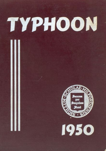 1950 Milford Academy Yearbook Cover