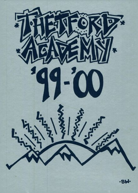 2000 Thetford Academy Yearbook Cover