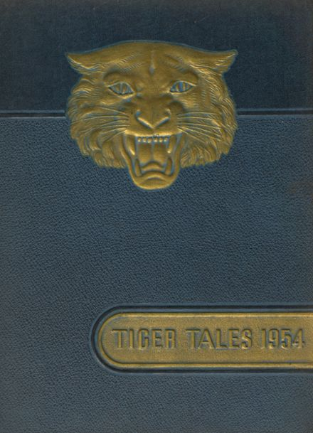 1954 Northport High School Yearbook Cover