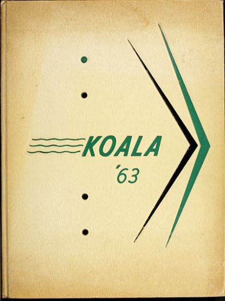 1963 Riverside Technical High School Yearbook Cover