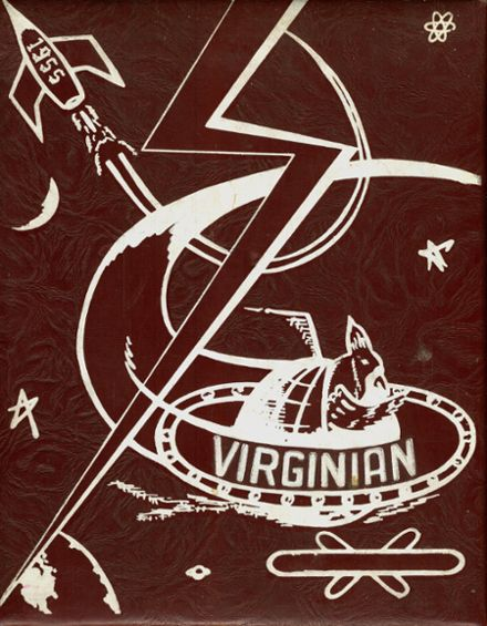 1955 Virginia High School Yearbook Cover