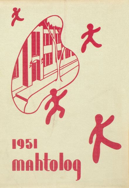 1951 Mahtomedi High School Yearbook Cover