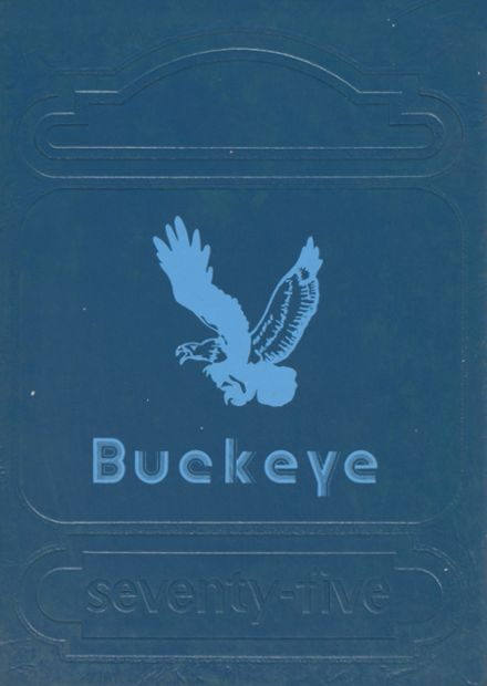 1975 Mississinawa Valley High School Yearbook Cover