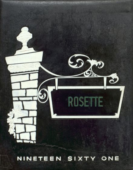1961 Roseville High School Yearbook Cover