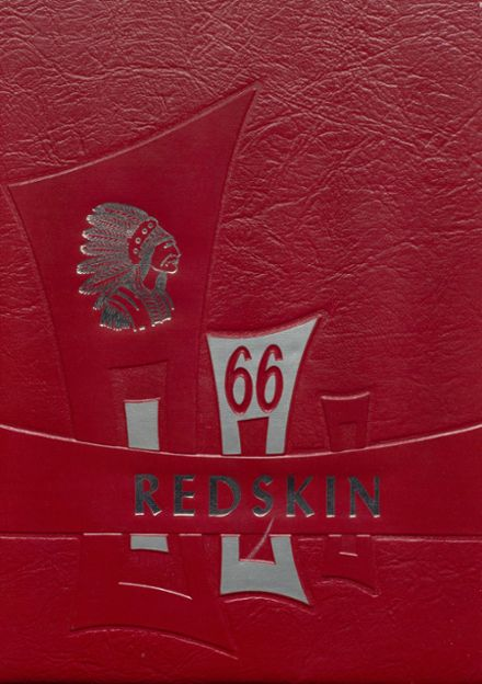 1966 Union High School Yearbook Cover