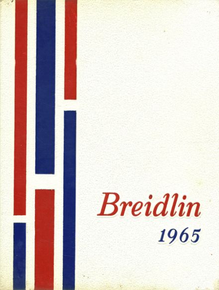 1965 Coughlin High School Yearbook Cover