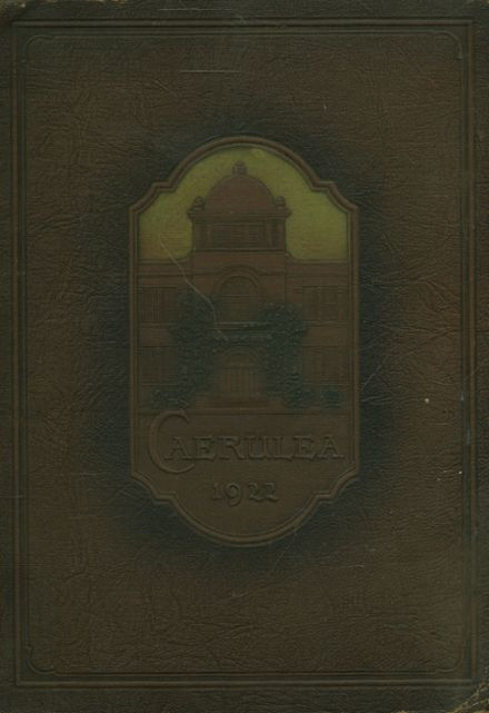 1922 Long Beach Polytechnic High School Yearbook Cover