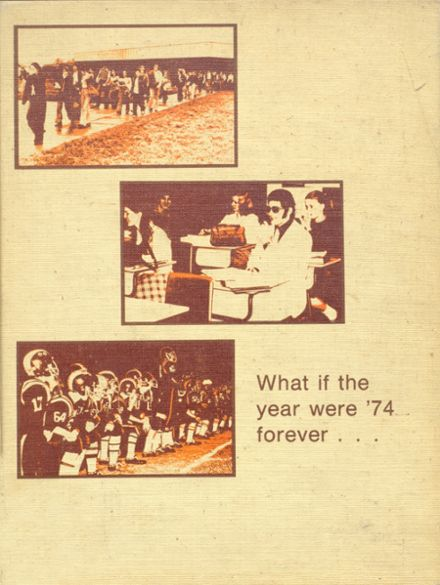 1974 New Lexington High School Yearbook Cover