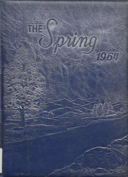 1964 Shady Spring High School Yearbook Cover