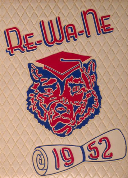 1952 Reno High School Yearbook Cover