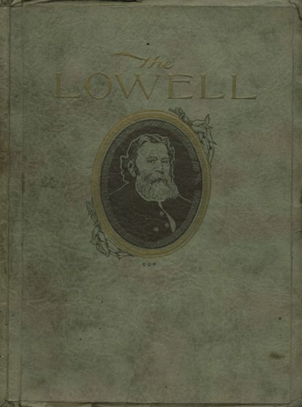 1922 Lowell High School Yearbook Cover