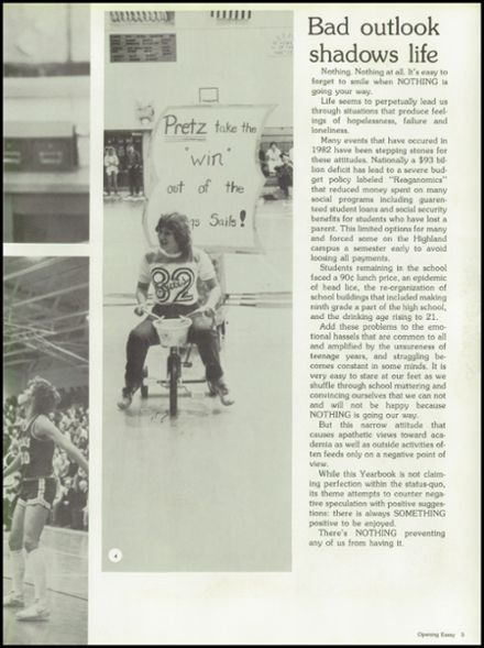1982 Freeport High School Yearbook Page 9