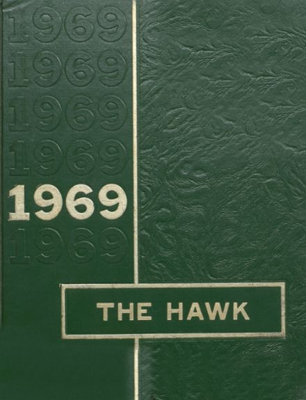 1969 Woodward Community High School Yearbook Cover