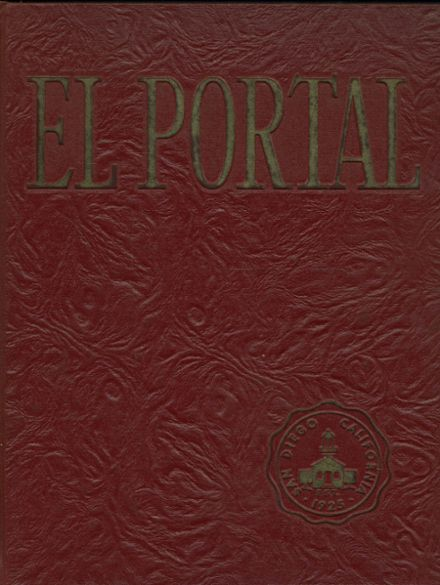 1964 Point Loma High School Yearbook Cover