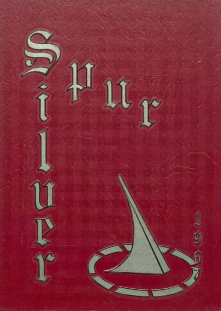 1967 W.B. Ray High School Yearbook Cover