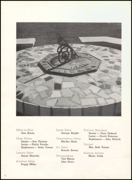 1967 W.B. Ray High School Yearbook Page 6