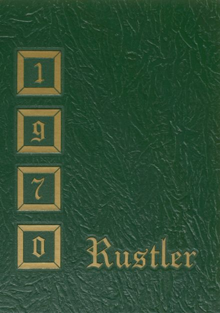 1970 Miller High School Yearbook Cover