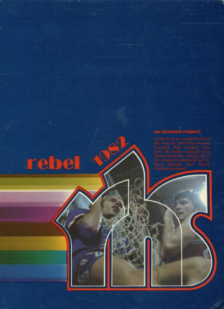 1982 Richland High School Yearbook Cover