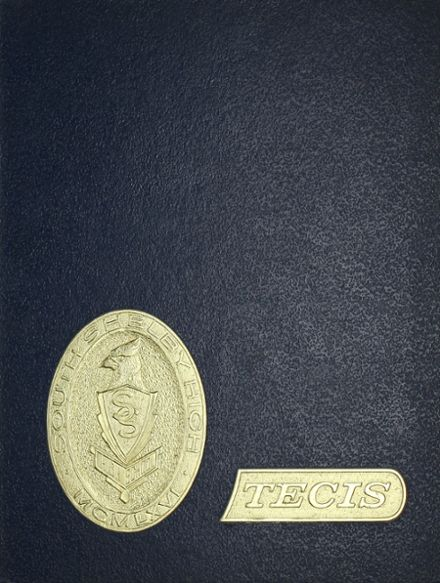 1966 South Shelby High School Yearbook Cover