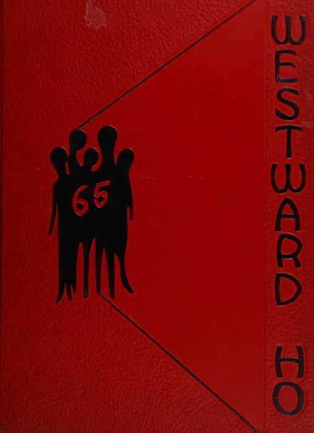 1965 West High School Yearbook Cover
