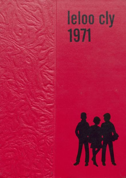 1971 Coupeville High School Yearbook Cover