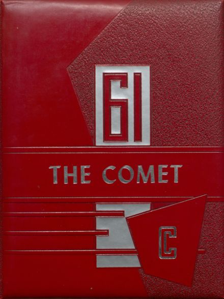 1961 Carlisle County High School Yearbook Cover