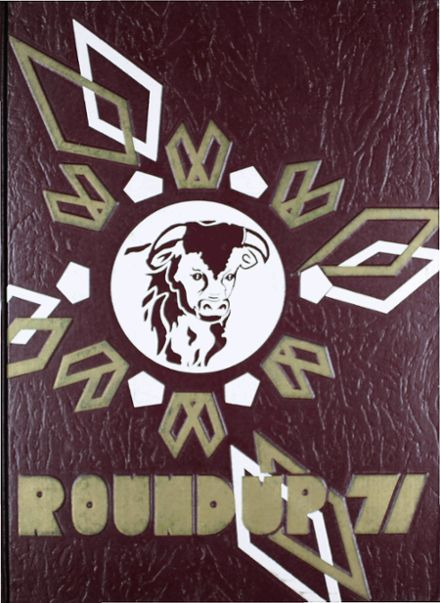1971 Hereford High School Yearbook Cover