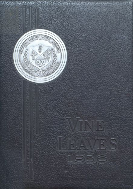 1956 Sacred Heart High School Yearbook Cover